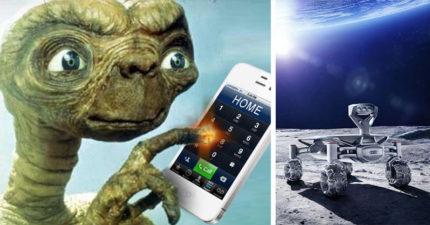 德國公司宣佈會在月球上設置手機通訊基地台,以後地球人有福了!