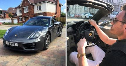男子以20英鎊出售「保時捷跑車」,最終爽賺20多萬!
