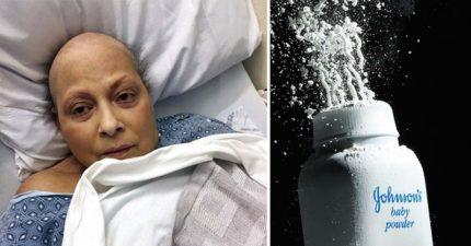 隱瞞致癌風險?她每天使用「嬌生嬰兒爽身粉」40年後患癌,怒告嬌生獲賠126億!
