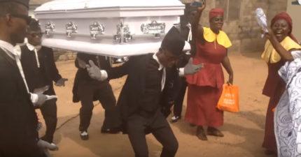 要死也要這樣死!加納流行的新型葬禮「用最動感舞步」送你走!(影片)