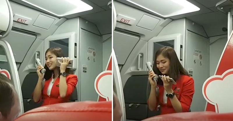 飛機被延誤,正妹空姐用「會戀愛的嗓音」唱《Im Yours》讓乘客都不想飛了! (影片)