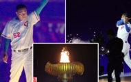 台灣史上高水準!「永遠的第四棒」陳金鋒反轉世大運開幕典禮,「揮棒點燃聖火」全場最高潮!