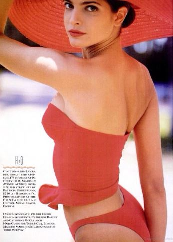19張證明「以前女生就是比現在女生漂亮」的絕種零修圖20年前天然超級名模照。