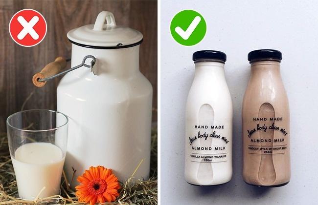 10種不早點學會「吃錯方式可能嚴重威脅生命」的生活常見食品。#9 牛奶一定要殺菌過才能喝!