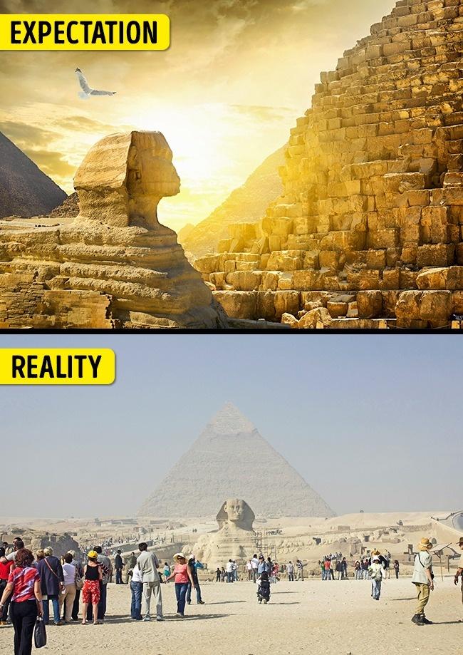 15個會讓你取消很多旅遊目標的「讓你美夢破滅」知名景點,#3 埃及絕不能去!