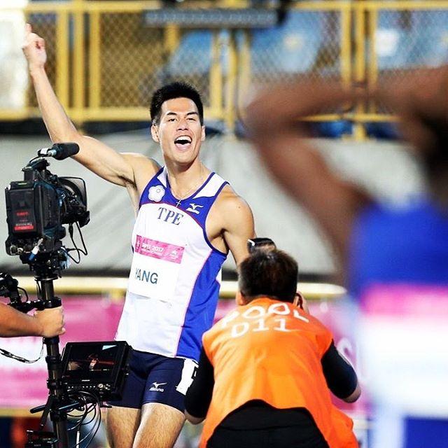 睽違58年!「台灣最速男」楊俊瀚奪下台灣第一位百米金牌,創世大運首面金牌紀錄!