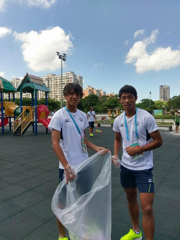 幾張日本隊休息室照片超誇張!不只主動打掃公園,日本隊選手村乾淨到像「沒人住過一樣」。