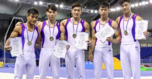 世大運台灣男子體操隊幹掉加拿大、美國「狠奪第一」!隊員:「有感受到大家的加油!」