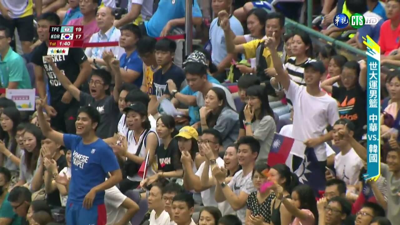 大敗韓國幫棒球報仇!中華隊男籃被酸民看衰,正面喊「是證明自己的動力」連奪3勝!