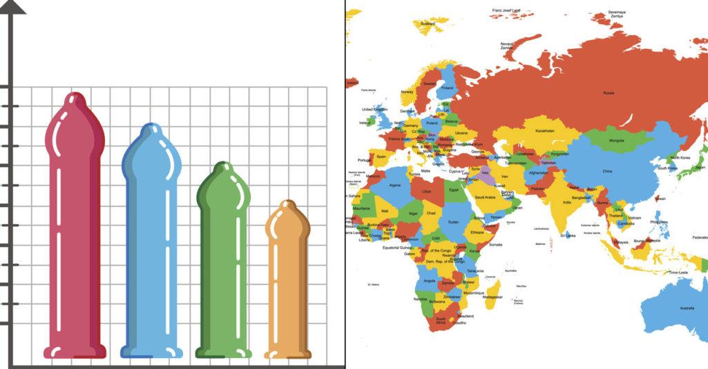 各國男生「GG長度大調查」!第一名18公分「在這裡」,台男只慘贏這3個國家...
