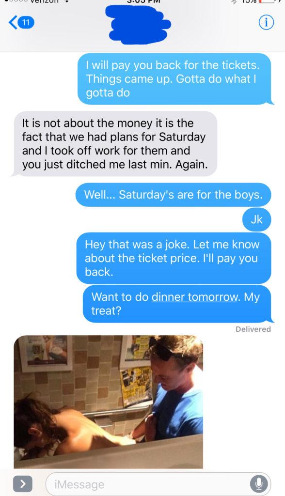 男子為了兄弟「放鳥女友」讓女友暴怒,女友傳了一張「抽插」照變成最綠的報復。