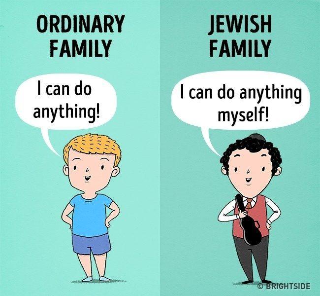 10張台灣父母都要看的「你的家庭VS猶太家庭」的對比圖 讓小孩學會獨立最重要!
