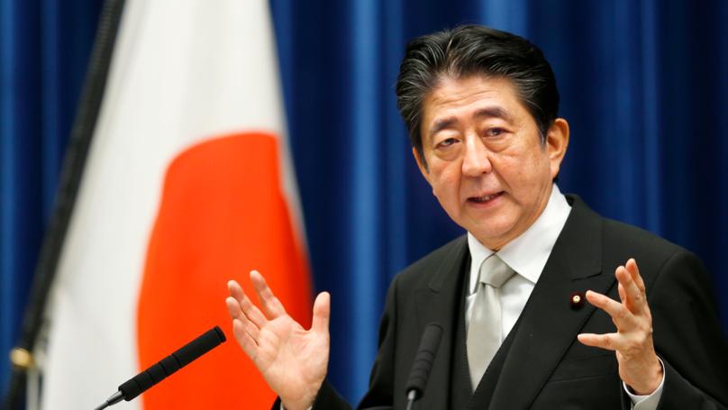 廣島原爆72年,安倍晉三呼籲各國建立「無核武世界」!但日本上月才剛「反對禁核」...