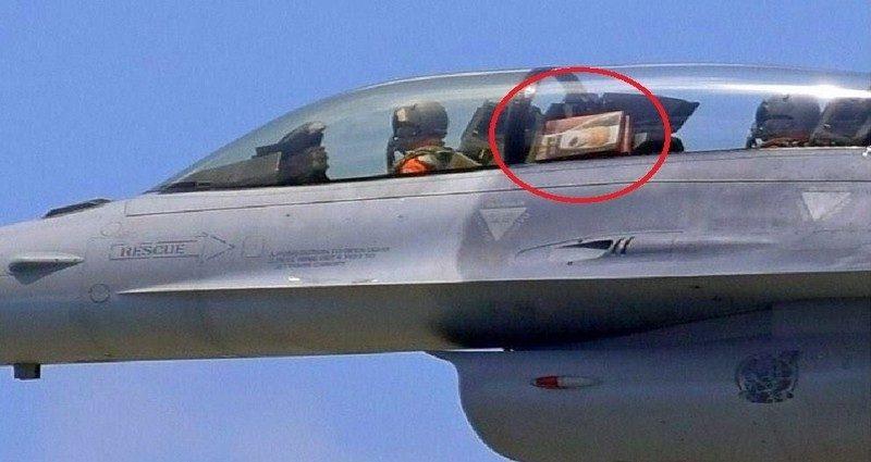 飛官用空軍主力F 16戰機「偷運麻糬」以為沒人發現,國外媒體罵爆!