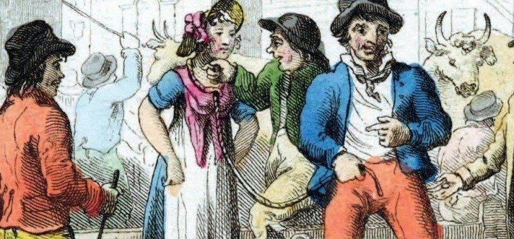 英國男人曾流行「賣妻」!用繩子牽到市場賣「出價最高就得標」老婆比老公更開心!