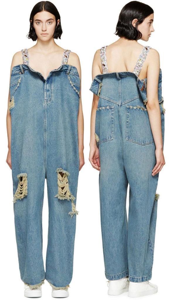 36個已經跨越好幾個時代的「超OVER時尚」服裝設計!#16 要42萬台幣的吊帶褲...