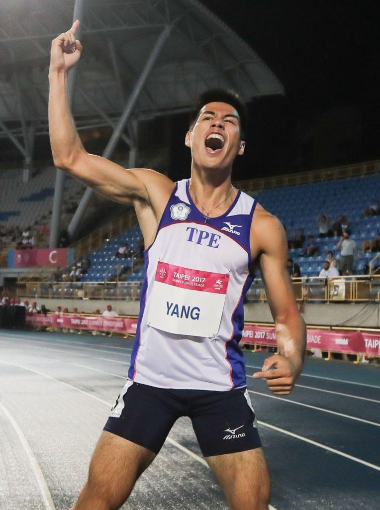 不可能的任務!「台灣最速男」楊俊瀚倒數第2「奪金」,外媒震驚:誰想得到?