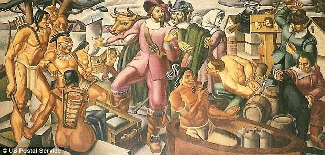 時光旅行是真的?80年前壁畫驚現「智慧型手機」,「超前衛外型」屌打iPhone!