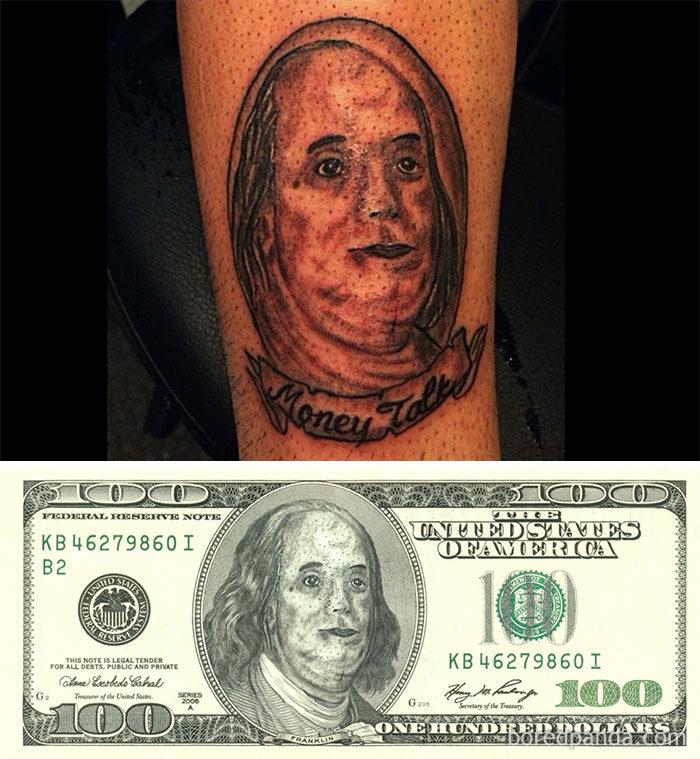 30張「完全GG臉部刺青」被網友惡搞放上本尊照。#7 女兒比安娜貝爾還恐怖...