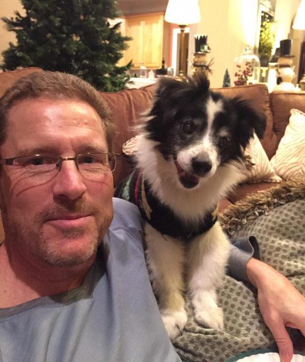 30位嘴巴一直不停的說「超討厭狗」但最後還是淪陷的可愛老爸