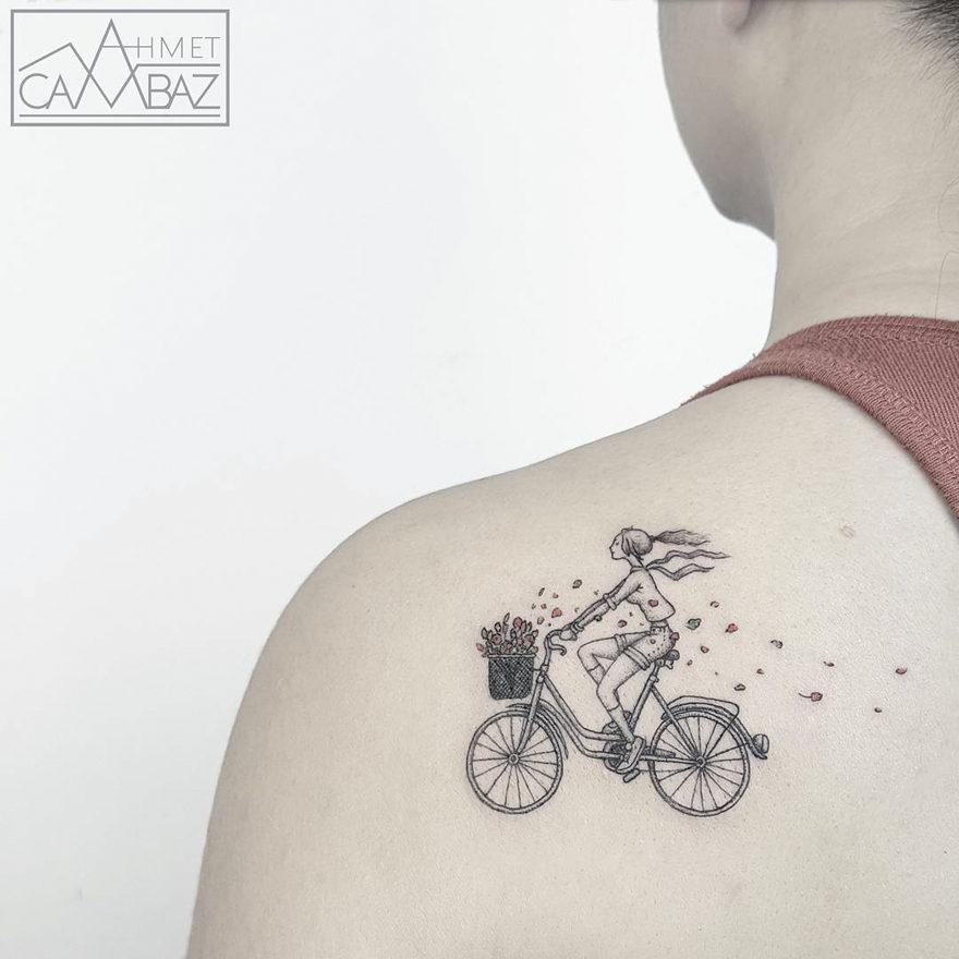 30超簡單但遠遠超越誇張刺青的「超完美簡約刺青」。阿嬤都會愛!