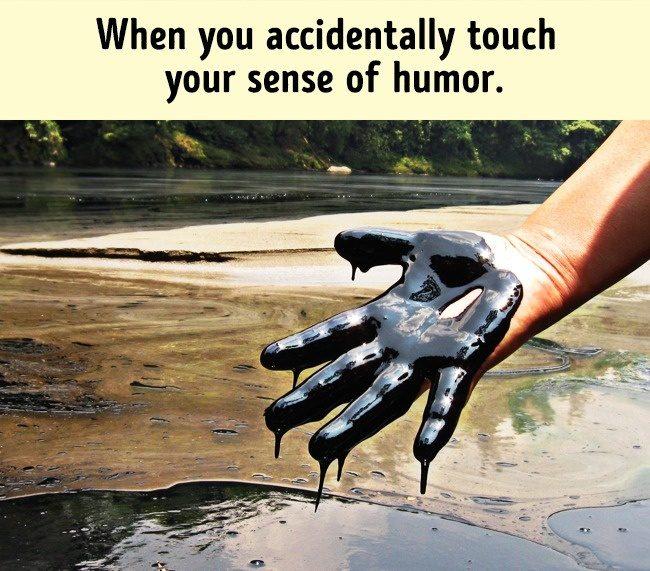 18張只有心很黑的人才懂的「黑色幽默」搞笑圖! #5 每個女人的開心來源!