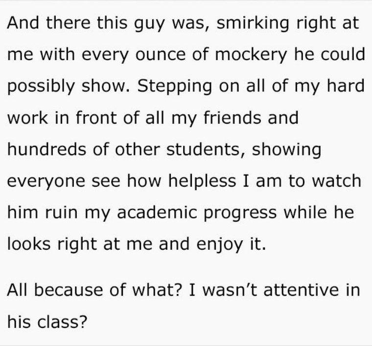 他「考試沒帶筆」遭監考老師狠狠羞辱 上演復仇「毀掉老師人生」!