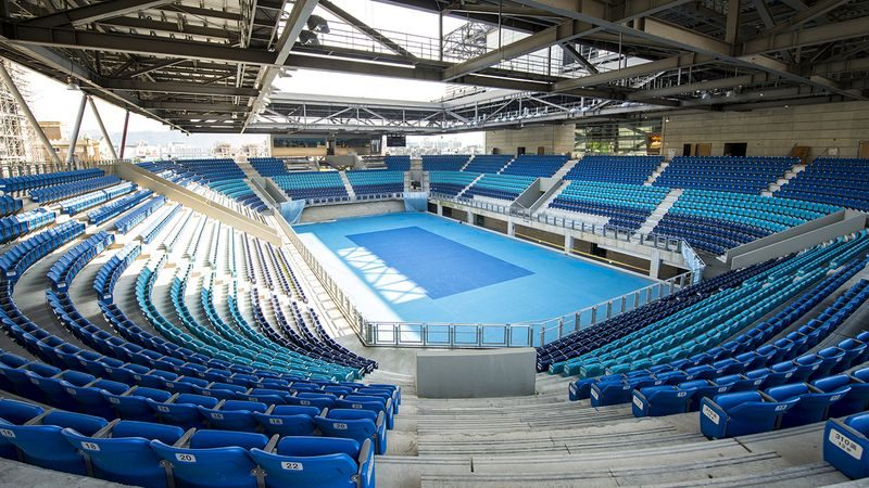 36°C烈陽選手狂中暑!世大運19億網球場沒屋頂,全是「他」下令的!網友嗆:台灣人奇怪的心態