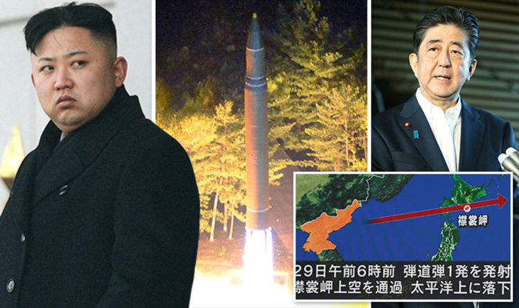 北韓又朝日本發射!飛彈8年來首次「飛越日本上空」!川普硬起來,第三次世界大戰一觸即發!