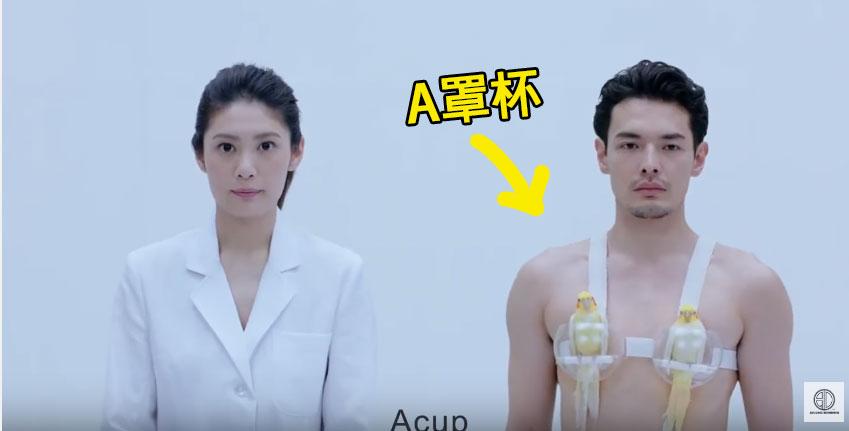 日本影片罩杯轉換成動物,看到E罩杯「已經被禁播了」。