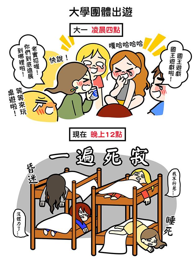 7張讓你幻想破滅的「女生真實生活模樣」爆笑插畫。#3「夏天化妝」是不可能任務...