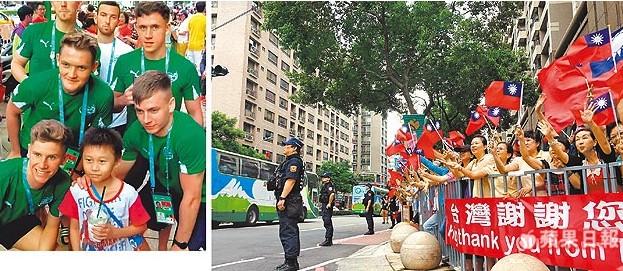 日本隊掃進林口人心裡!當地居民「含淚感謝」,300m人龍站街「揮旗歡送」:台灣謝謝你!