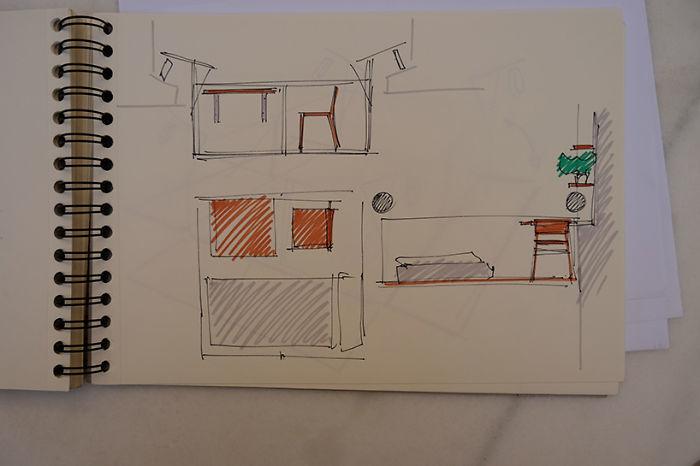 設計師親手打造「超隱密微型工作室」,「往下看沒地板」地點狂到嚇壞網友!