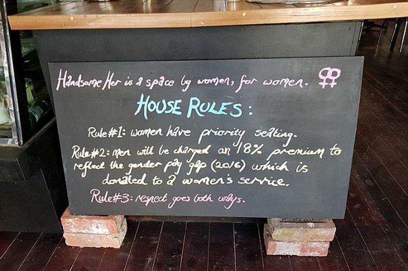 男生來這間咖啡廳會要「多付18%」,這種男生稅超有道理!