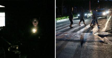 815全台大停電揭「台灣人水準」!超讚「沒紅綠燈畫面」讓日本遊客停下來狂拍照!