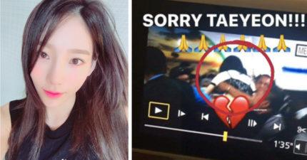 「胸部、屁股任人摸!」太妍印尼機場被粉絲撲倒,嚇得大哭被警衛扛走。(影片)