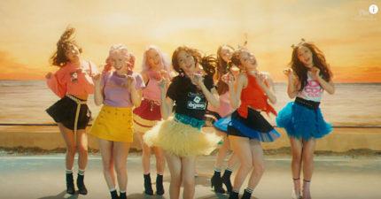 少女時代SNSD最新單曲「Holiday」出爐,1:49 被網友發現有點「胸」!