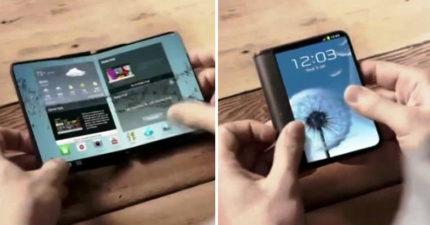 故意等iPhone X宣布後給蘋果最大打擊!三星秒推出「史上最猛可摺疊手機」讓果粉都快變心了!
