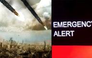 9月23日「末日」加州電視出現緊急警告畫面,雜音中聽到「最後的日子,混亂暴力要來了...」民眾嚇壞