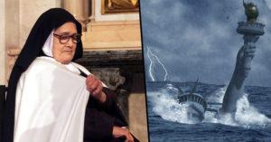 神準預言二次世界大戰,盲人修女「看到美國毀滅性未來」!上個月美國發生「百年日全蝕」就是徵兆!
