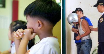 只要看到幼童「不管男女都想上」!光頭阿伯拖10歲男童進農舍性侵,連同寢獄友都被他上!