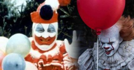 恐怖小丑是真的!《牠》最原始樣貌是「殘殺33命雞.姦殺童犯」!「當我穿上小丑裝,就變另一個我...」