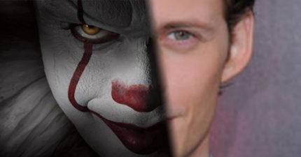 嚇人小丑《牠》演員本人照片曝光,超可口的「壞眼神小鮮肉」讓女生愛上小丑!
