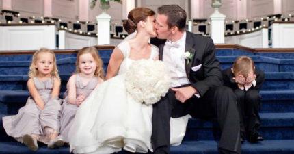 30張超經典「小孩 VS 婚禮」爆笑真相照!證明小朋友早就比我們有智慧了!