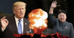 金正恩執行「火箭人自殺任務」!川普宣布:「美國除了摧毀北韓,別無選擇!」