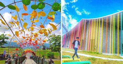天氣不好也能看到彩虹!全台3個超夯「隨時召喚繽紛夢幻色彩」的特搜七彩景點!