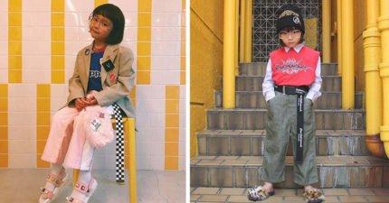 日本「6歲迷你時尚教主」IG有30萬粉絲!2歲就會自己挑衣服「超狂時尚穿搭」打趴超模!(17張)