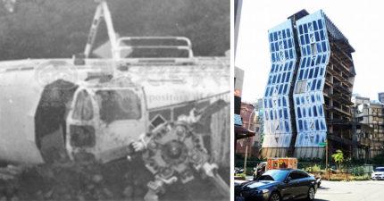 林口22年詭異波浪廢墟建築傳出「華航失事點」,網友表示「據說有人上吊」網友:走過都覺得身體不適