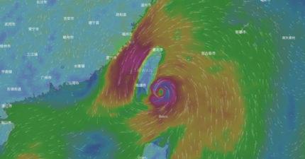 泰利颱風就將生成!恐變「中颱」13日星期三動態圖看到威力!