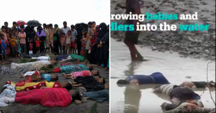 無數孩童的屍體漂上岸,緬甸政府現正在執行「種族大滅絕」...翁山蘇姬被罵翻!